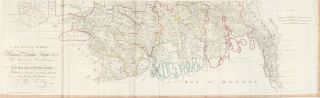 50 & 51. Provinces of Bengal and Behar. A New World Atlas
