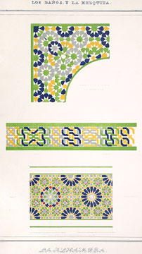 Plans, Elevations, Sections and Details of the Alhambra.