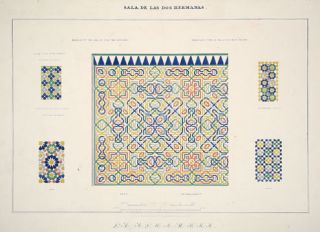 Plans, Elevations, Sections and Details of the Alhambra. Owen Jones