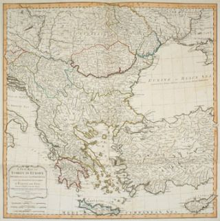 40. Turkey in Europe. A New Universal Atlas. Thomas Kitchin