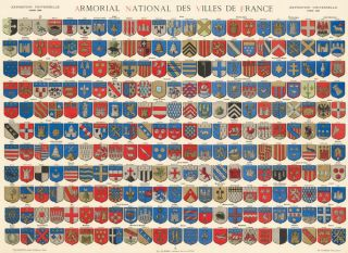 Armorial National des Villes de France. Van Driesten