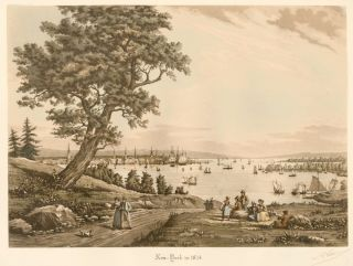 New York in 1834. R. Varin.