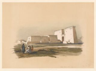Temple of Dakki, in Nubia. Egypt and Nubia. David Roberts