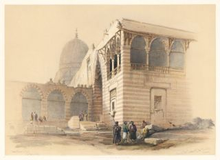 One of the Tombs of the Khalifs, Cairo. Egypt and Nubia. David Roberts