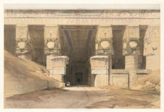 Dendera. Egypt and Nubia. David Roberts