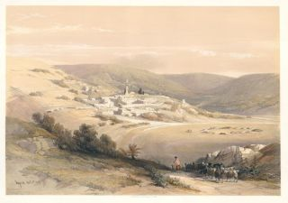 Nazareth. The Holy Land. David Roberts, Roberts