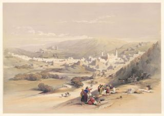 Hebron. The Holy Land. David Roberts, Roberts