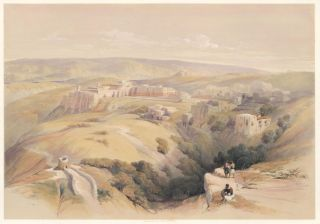 Bethlehem. The Holy Land. David Roberts, Roberts