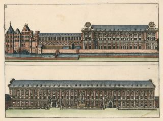 Pl. 23. Palace at Munich. Architectura Curiosa Nova. Georg Andreas Boeckler, Georg Andreas Böckler.