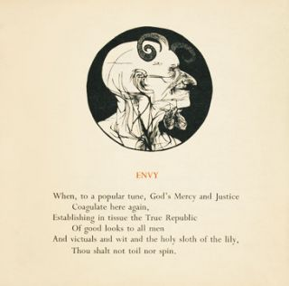 The Seven Deadly Sins. Leonard BASKIN, Anthony Hecht.
