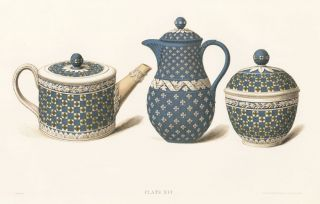 Plate XVI. Old Wedgewood, the Decorative or Artistic Ceramic Work...