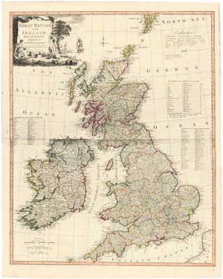 6. Great Britain and Ireland. A New Universal Atlas. Thomas Kitchin