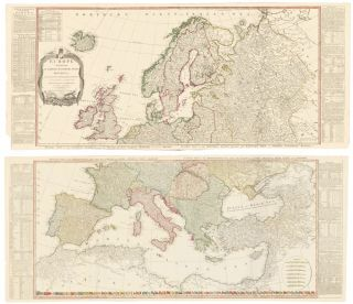 4 & 5. Europe. A New Universal Atlas. Thomas Kitchin