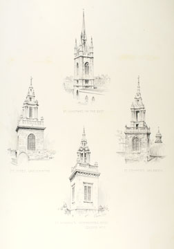 Original drawings for Renaissance Architecture of England.