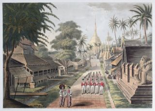 Eighteen Views Taken at & near Rangoon. Lieutenant Joseph Moore, G. Hunt, Joseph Moore, Lt....