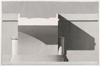 Architectural renderings]. French School