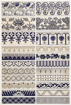 Examples of Chinese Ornament. Owen Jones.