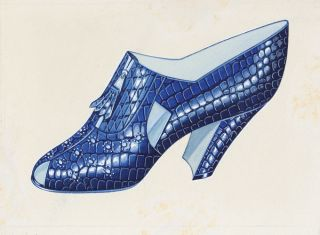 Shoe design. French School