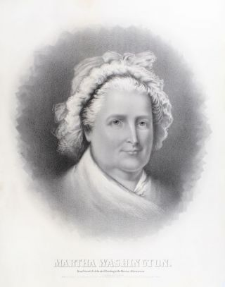 Martha Washington. Gilbert Stuart, after