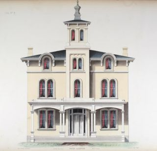 Architectural Designs for Model Country Residences. John Riddell