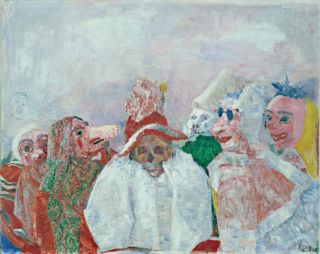 JAMES ENSOR. Anna Swinbourne, New York. Museum of Modern Art