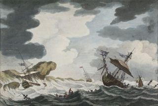 Naval Scene]. European School