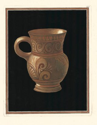 Pl. 127. Collection of Etruscan, Greek and Roman antiquities from the cabinet of the Honourable William Hamilton.
