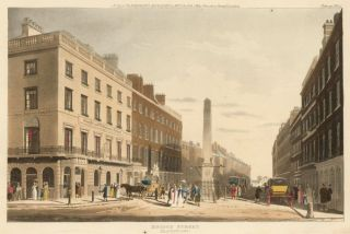 Bridge Street. Repository of Arts, Literature, Fashions & c. Rudolph Ackermann
