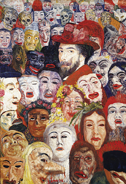 JAMES ENSOR: The Complete Paintings. Xavier Tricot