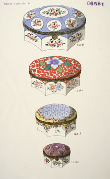 06581. Jewelry box designs.