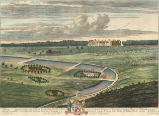 Pl. 21. Grimsthorp in the County of Lincoln the Seat of the Rt. Honble. Robt. Earle of Lindsey...