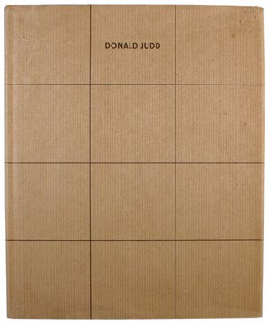 DONALD JUDD: Furniture. Judd.