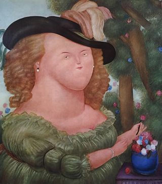 BOTERO. [INSCRIBED]. Munich. Galerie Buchholz, Tracy Atkinson.