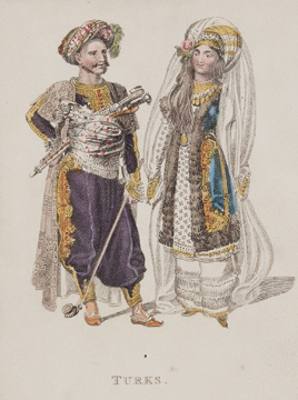 Marriage Costumes of Various Nations