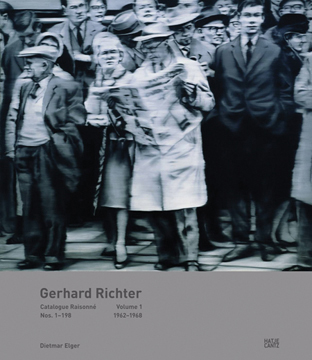GERHARD RICHTER: Catalogue Raisonné, Volume 1. Dietmar Elger