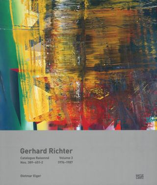 GERHARD RICHTER: Catalogue Raisonné, Volume 3. Dietmar Elger