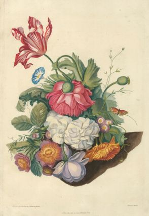 Still life with flowers and butterfly. Jan van Huysum, Jan van Huysum, after
