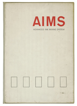 AIMS Advanced Ink Mixing System