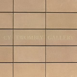 The CY TWOMBLY Gallery. Nicola Del Roscio, Julie Sylvester, Houston. Menil Collection