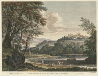 In the Collection of the Right Hon. the Earl of Burlington. James after Filippo Lauri Mason, European views, Knapton and Pond.