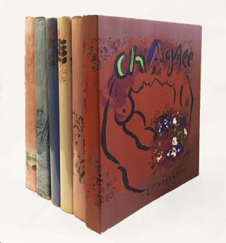 The Lithographs of MARC CHAGALL: Complete Set of Six Volumes. MOURLOT, SORLIER, JULIEN CAIN, FERNAND MOURLOT, CHARLES SORLIER.
