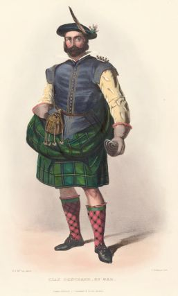 Clan Donchadh of Mar. The Clans of the Scottish Highlands. R. McIan.