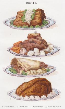 Joints (Beef and Mutton). Mrs. Beeton's Book of Household Management. Isabella Beeton