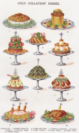 Cold Collation Dishes. Mrs. Beeton's Book of Household Management. Isabella Beeton