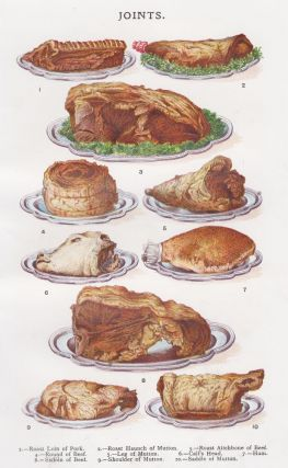 Joints (Pork, Beef and Mutton). Mrs. Beeton's Book of Household Management. Isabella Beeton