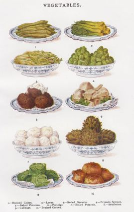 Vegetables. Mrs. Beeton's Book of Household Management. Isabella Beeton