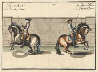 Plate 46. La Pirouette a Gauche. William of Newcastle, Newcastle