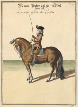 Plate 14. La vraie assiette du Cavalier. William of Newcastle, Newcastle