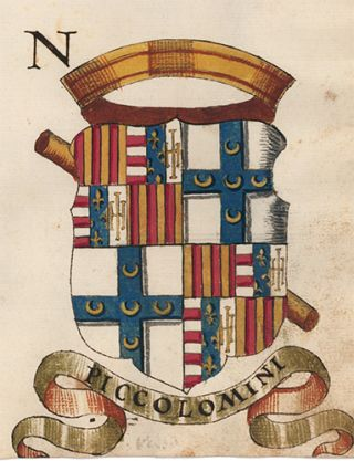 Pl. 109. Italian Family Coats of Arms.