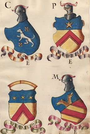 Pl. 60. Italian Family Coats of Arms. Italian School